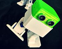 "Otto DIY ""build your own robot"""