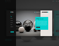 Creative Company Website UI Design | Multipage