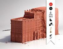 """PRINT Cité de l'Architecture """"sculptures"""""""