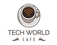 Tech World Cafe Logo