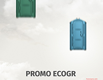 EcoGroup creative landing page.
