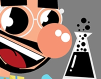 Projeto Character Design Tíbio e Perônio / Tv Cultura