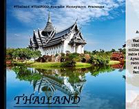 Maket voyage de Thailand