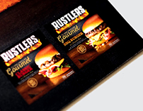 Rustlers POS advertising campaign