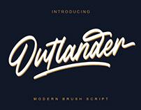 Outlander Brush Script by Megi Satyo Widodo