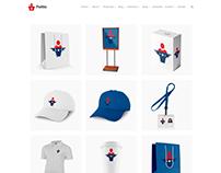 Shop Grid Page - Politic WordPress Theme