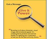 Image One PR Brand Print Ad