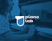 PIANO LAB Identity for music school for children