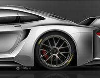 Porsche 959 Gruppe B Hommage Concept
