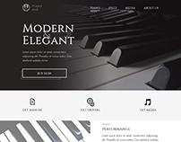 Piano M&E Landing Page