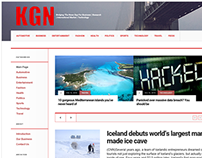 News website www.kgn.mobi