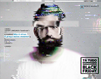 Men's Market - Campanha Hacker na Black Friday
