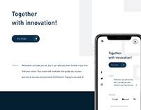 Website and App Design for Softmetric Company