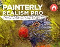 Painterly Realism Pro Action