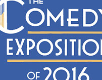 Comedy Expo 2016 Logo