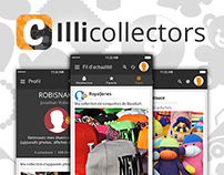 Illicollectors - Application social collectionneurs