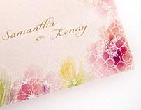 Blossom- Wedding Card Design