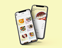 UI | UX Prototype - Wellbe Healthy food delivery