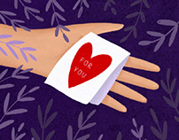 Share your love - greeting cards design