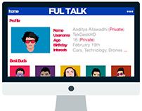 FULTALK - Social Network Concept