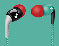 Philips | O'Neill Specked Earbuds