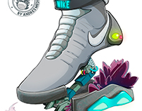 NIKE MAG - BACK TO THE FUTURE
