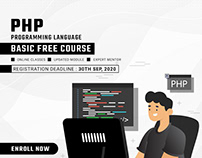 PHP BASIC FREE COURSE | SOFTOPARK