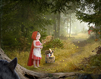 Fairy Fables inspired - photobashing