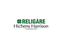 UI Work - RELIGARE Hichens Harrison Website Design