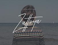 Zattoya Typeface