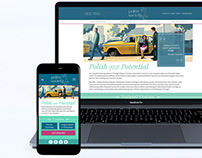Polite Society Mobile First and Website