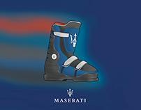 Maserati Ski Boot Concept