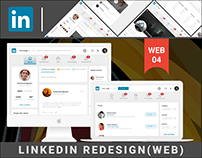 LINKEDIN(WEB) - REDESIGN CONCEPT