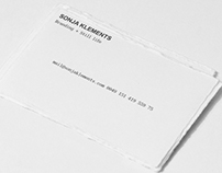 SONJA KLEMENTS Corporate Identity