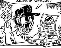 Unpublished Starlog Cartoons
