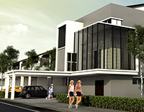 Two Storey Semi Detached House