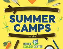 Summer Camp branding 2015 and 2016