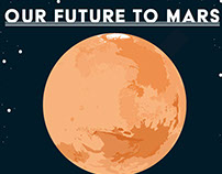 Our Future to Mars Infographic