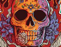 Ilustração Festival Abril Pro Rock 2015