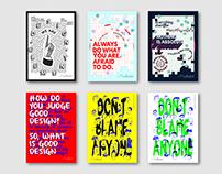 Poster Design For Brilliantaire Creative Studio