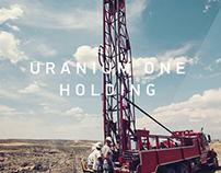 Cайт компании Uranium One Holding