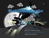 Monkeesblood Website Design (2014)