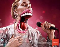 SINGSTAR BIG MOUTH FOR GAMESTOP.