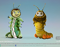 'Oruguitas', de Diego Mussiak (Little Caterpillars)