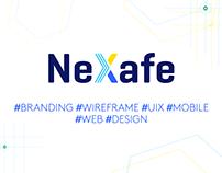 NeXafe    Branding   Wireframe   UIX   Web   Mobile
