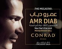 AMR DIAB Concert Flyer Design