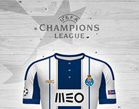 UEFA CHAMPIONS LEAGUE 16.17 . Jerseys Concepts