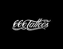 666 Tattoos logo design
