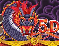 Slot Game - 5 dragons