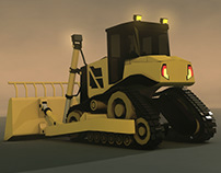 Construction Machines Series / Dozer
